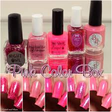 the color box pink june 2017 polish and paws
