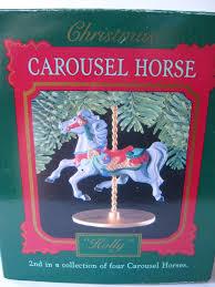 carousel hallmark keepsake ornament