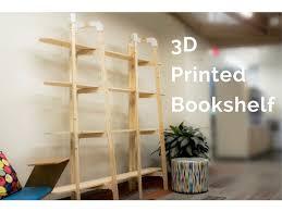 3d Bookshelf 3d Printed Bookshelf By Chrisferenceid Thingiverse