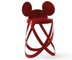 mickey ribbon disney s mickey mouse stool for cappellini