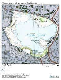 Map Of Cambridge Ma Site Summary Fresh Pond