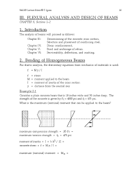 moment of inertia of cracked section bending beam structure