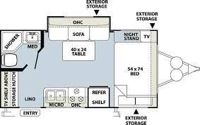 Small Rv Floor Plans Small Camper Floor Plans U2013 Gurus Floor