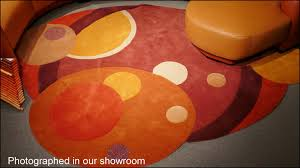 Modern Circular Rugs Custom Area Rugs Area Rugs Contemporary Furniture Leather