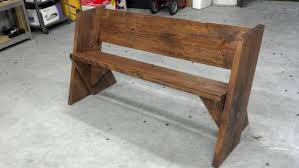 Aldo Leopold Bench Plans Just A Bench Texasbowhunter Com Community Discussion Forums