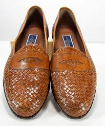 bragano by cole haan men u0027s brown woven leather loafer dress shoes