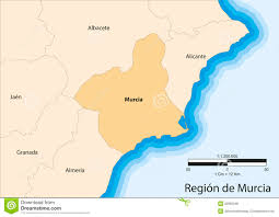 Spain Regions Map by