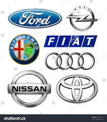 opel nissan kiev ukraine february 11 2016 logos stock photo 377454718