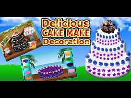 delicious cake make decoration cooking games android u0026 iphone