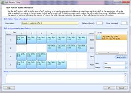 shift pattern generator online employee scheduling exle 8 hours a day 7 days a week 2