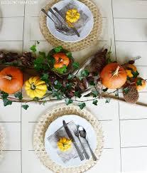 Esszimmer Herbstlich Dekorieren Herbstliche Tischdeko Mit Kürbissen Eclectic Hamilton