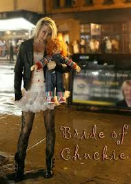 Chucky Bride Halloween Costumes 20 Bride Chucky Halloween Images Costume