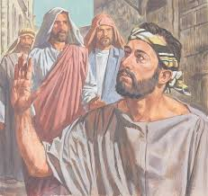 Jesus Healed The Blind Man Chapter 39 Jesus Heals A Blind Man