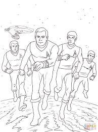 Coloriage  Star Trek la série animée  Coloriages à imprimer gratuits