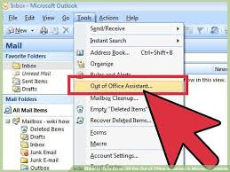 outlook message absence bureau 4 ways to turn on or the out of office assistant in microsoft