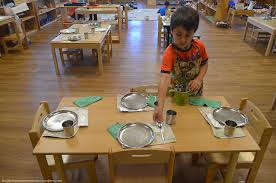 Gallery For Gt Set The Table Chore by 28 Set The Table Table Setting Healthy Beginnings Montessori Boy
