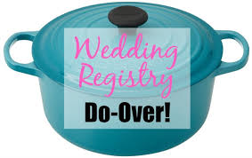 where to do wedding registry here are the items i wish i d registered for