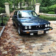bmw cars for sale by owner 1985 bmw 535i for sale by owner on calling all cars https