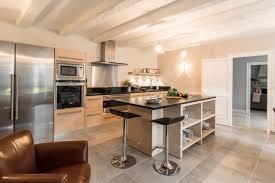 cuisine bois et inox cuisine bois et blanche beautiful cuisine blanche sans