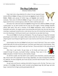 fifth grade reading comprehension worksheets teaching