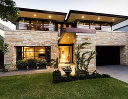 modern contemporary house plans more stacked ledger note how this is a great way to create