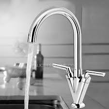 two handle kitchen faucet designed single hole two stick handle kitchen faucet