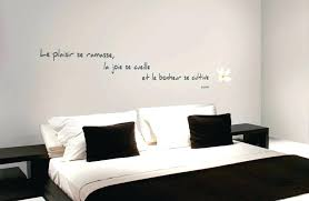 stickers citations chambre incroyable deco murale chambre ado 5 sticker citation bonheur