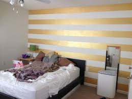 striped walls help needed with a gold striped accent wall