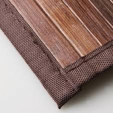 Bamboo Area Rug Venice Bamboo 6 X 9 Floor Mat Area Rug Indoor Carpet Walnut