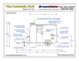 Kitchen Grease Trap Design Columbia Xl10 Mobile Kitchen Dreammaker Dog Carts