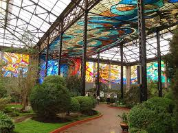 Glass Garden Art Cosmovitral Mexico U0027s Amazing Stained Glass Botanical Garden