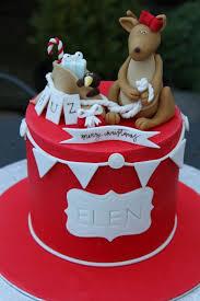 Australian Themed Decorations - australian themed christmas cake cake by rebecca davies cake