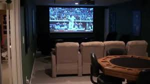 dream home theater pub room game room high def projector youtube