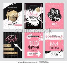 black friday sales t mobile set templates banners websites mobile websites stock vector