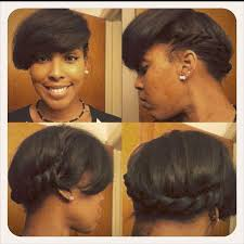 Transitioning Protective Styles - cute hairstyles for short transitioning hair hairstyles for