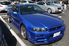 nissan skyline 2015 blue r34 nissan skyline gt r at daikoku futo andrew u0027s japanese cars