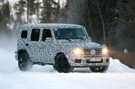 all new 2018 mercedes amg g 63 looks cool in the snow