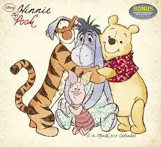 disney winnie pooh wall calendar 2015 dream