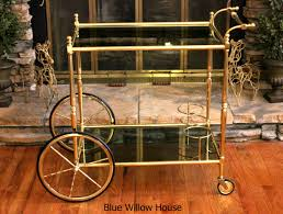 bar cart love the blue willow house