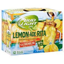 Bud Light Margaritas Bud Light Lime Cran Brrr Rita 12pk 8oz Cans Target