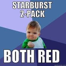 Starburst Meme - amazing starburst meme starburst both red quickmeme 80 skiparty