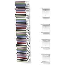 Invisible Bookshelf Diy Umbra Conceal Floating Book Shelf Large Silver Amazon Co Uk