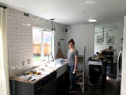 how to install a backsplash in the kitchen straight herringbone tile backsplash tutorial create enjoy