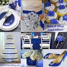 royal blue and silver wedding blue wedding color five combinations exclusively royal