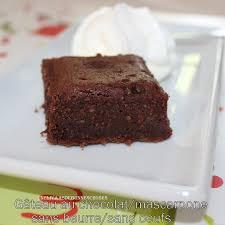 comment cuisiner un gateau au chocolat gâteau au chocolat mascarpone sans beurre et sans oeufs
