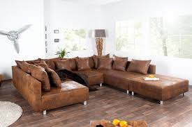 maisons du monde canapes canapé cuir marron vintage maisons monde canapé idées de