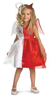 Fallen Angel Halloween Costumes Devilish Angel Child Costume Angel Costume Devil Costume