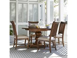 paula deen by universal dogwood 5 piece dining set with slatback