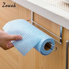 cabinet paper towel holder cabinet paper roll storage towel holder over door rack hanger