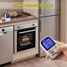 amazon com thermopro tp11 wireless remote digital cooking food